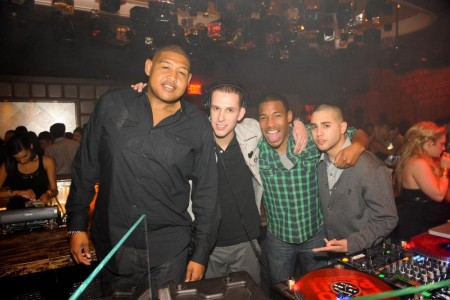 Omar Benson Miller Eric Dlux And Friends At Marquee Nightclub