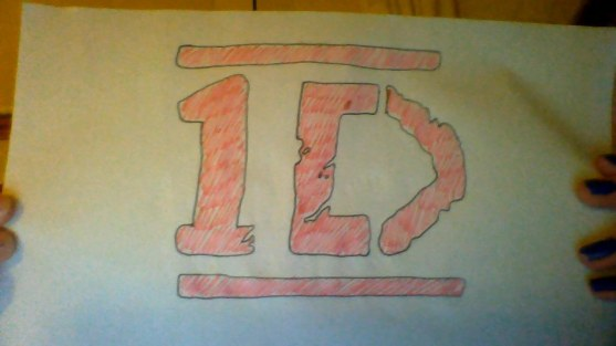 One Direction Logo Drawing Logo