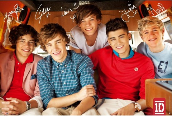 One Direction One Direction Single Poster