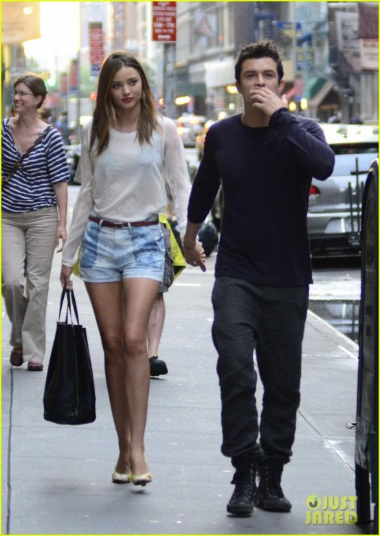 Miranda Kerr Orlando Bloom Nyc Outing