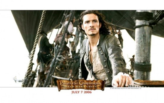 Orlando Bloom In Pirates Of The Caribbean Dead Mans Chest Wallpaper Pirates