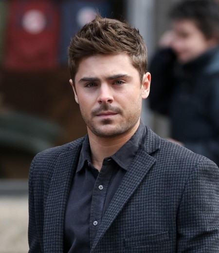 Zac Efron Filming In New York City Zac Efron