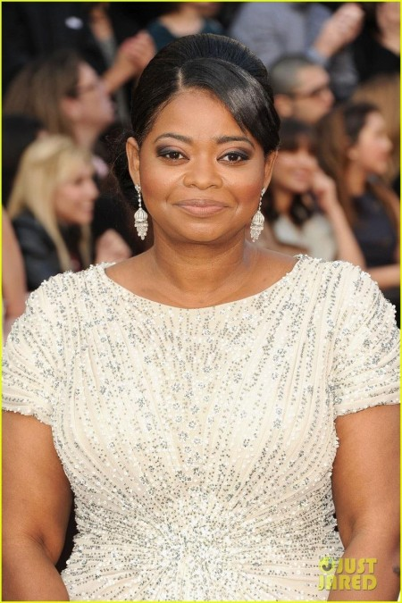 Octavia Spencer Oscars Red Carpet