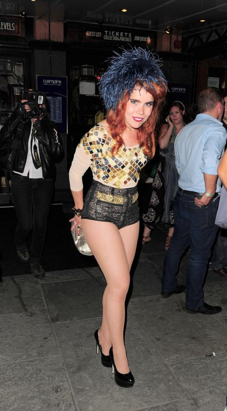 Paloma Faith Hot Pants Geometr