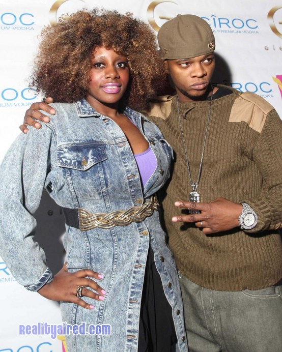 Papoose Attends Ramona Rizzos Birthday Event