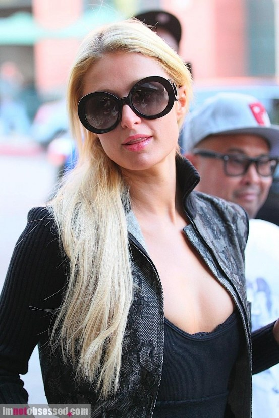 Paris Hilton Steps Out In Beverly Hills