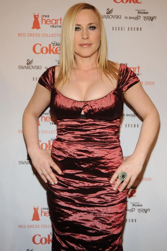 Patricia Arquette Heart Truth Red Dress Fashion Show Dark Red Dress Patricia Arquette Heart Truth Red Dress Fashion Show