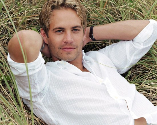 Paul Walker On Grass Wallpaper
