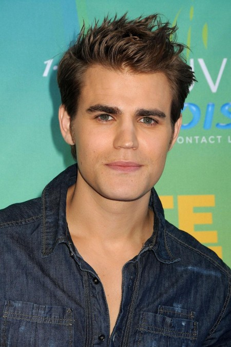 Paul Wesley Jeans Shirt Messy