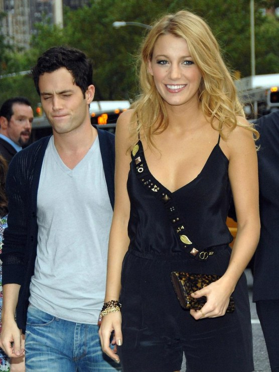Penn Badgley Blake Lively And Blake Lively