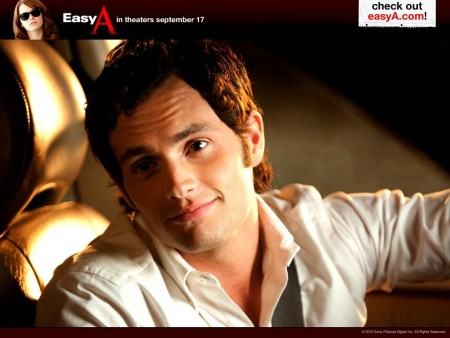 Penn Badgley In Easy Wallpaper Wallpaper