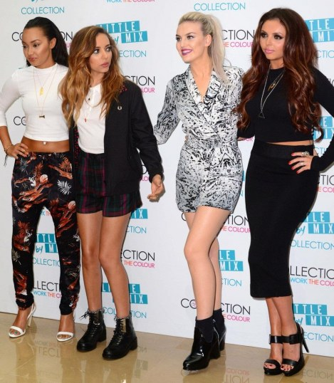 Perrie Edwards Little Mix Launch Their Makeup Tv Tvqsjrr Fashion