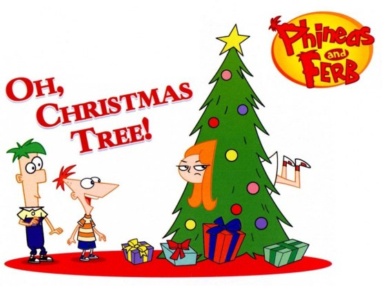 Phineas And Ferb Christmas Phineas And Ferb