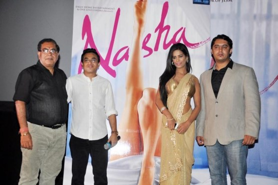 Poonam Pandey Nasha First Look Launch Photos  Nasha Poster
