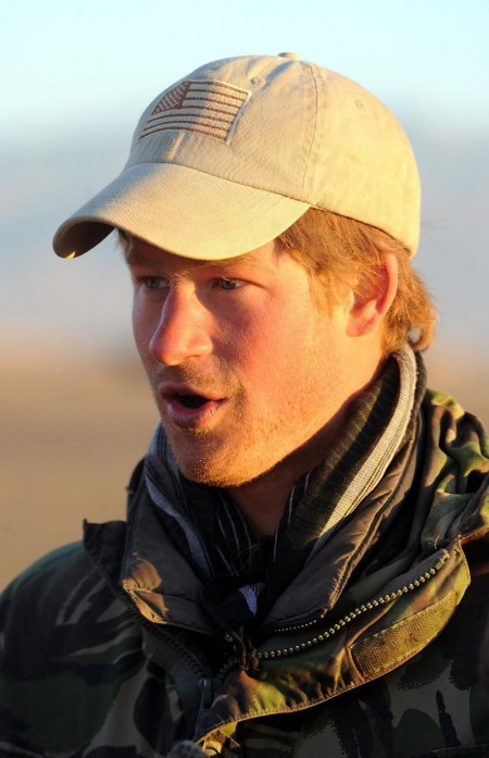 Prince Harry Army Fatigues