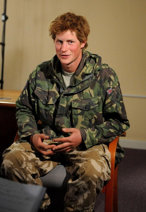 Prince Harry Army Fatigues Army