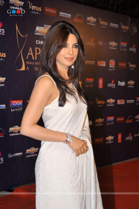 Priyanka Chopra At Apsara Award Function