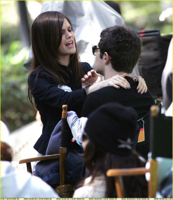 Filming The Oc Adam Brody And Rachel Bilson And Adam Brody