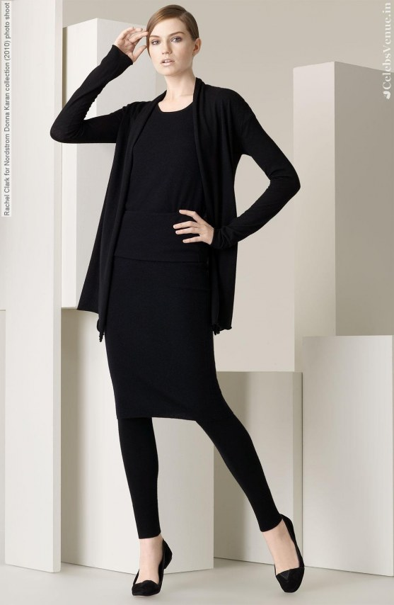 Rachel Clark For Nordstrom Donna Karan Collection Photo Shoot