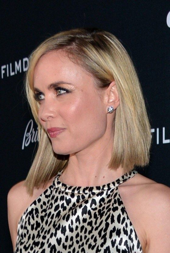 Radha Mitchell At The Premiere Of Olympus Has Fallen In Hollywood Dress