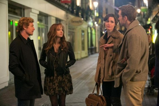 Still Of Simon Baker Rose Byrne Anna Faris And Rafe Spall In Primul An De Casnicie