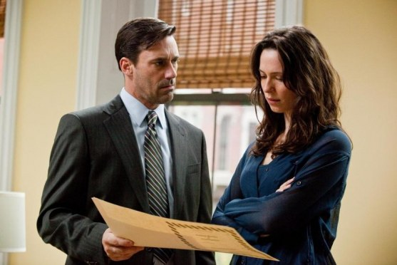 Still Of Rebecca Hall And Jon Hamm In Orasul The Town