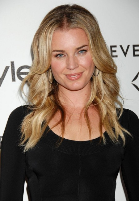 Rebecca Romijn At Forevermark And Instyle Golden Globes Event In Beverly Hills