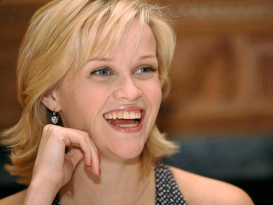 Reese Witherspoon Smile Wallpaper Hd Wallpaper