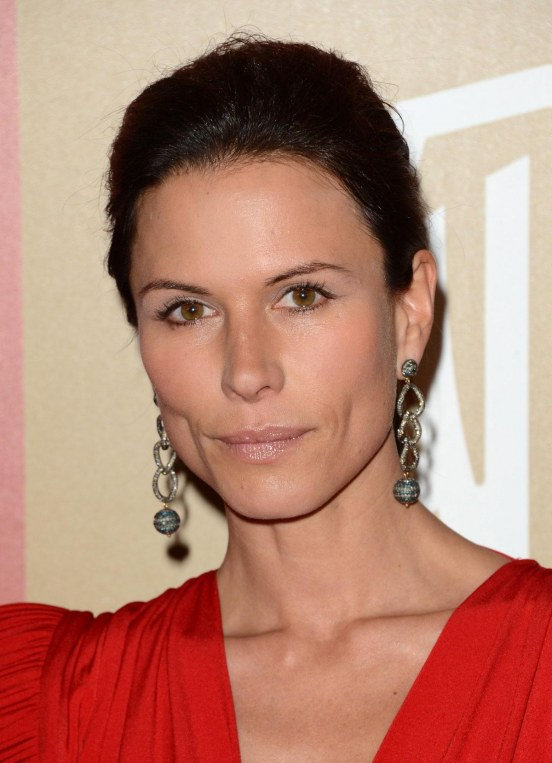 Rhona Mitra At Warner Bros Instyle Golden Globes Party In Beverly Hills