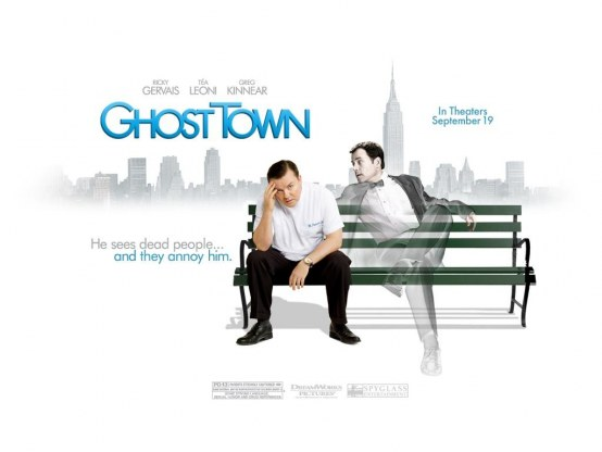 Ricky Gervais In Ghost Town Wallpaper Wallpaper