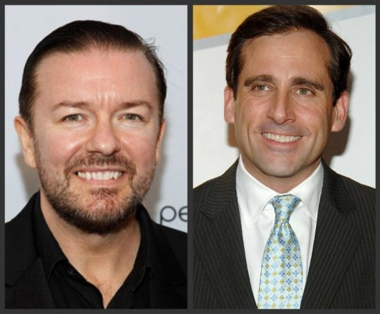 Ricky Gervais Steve Carell The Office