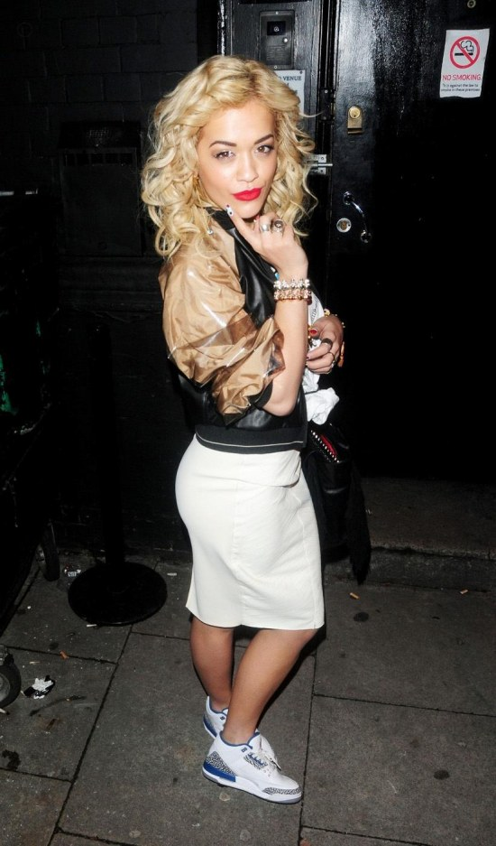Fashion Beauty Chicks Kicks Rita Ora Fashion