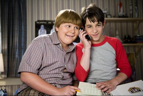 Picture Of Zachary Gordon And Robert Capron In Diary Of Wimpy Kid Dog Days Large Picture Grayson Russell