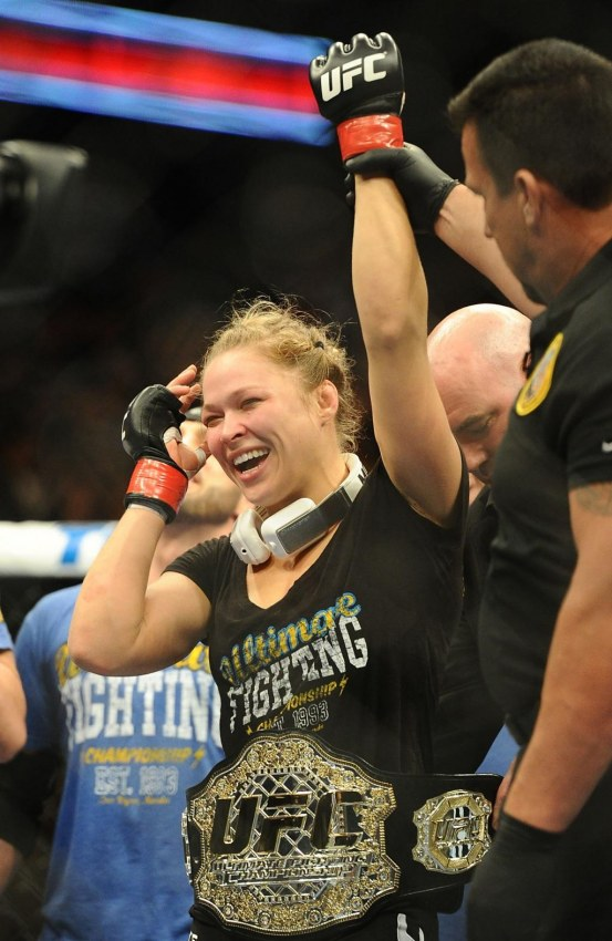 Ronda Rousey Photographed By Jayne Kamin Oncea