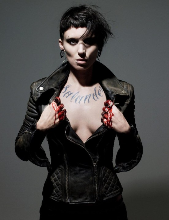 Film Noir The Girl With The Dragon Tattoo Rooney Mara Lisbeth Salander Starcasm Net Tv