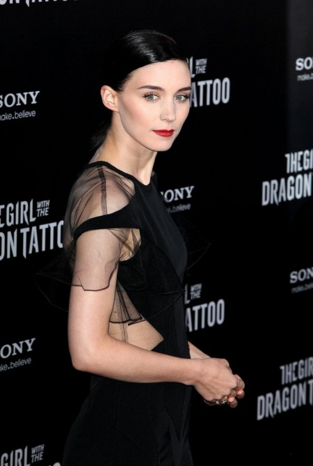 Rooney Mara Black Prabal Guru