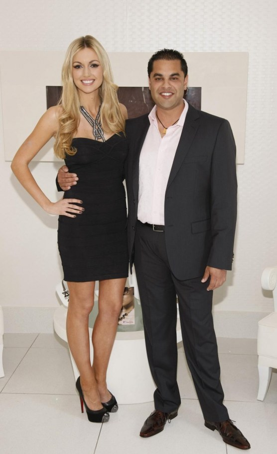 Rosanna Davison And Karnail Tumber At The Launch Of Miss Chic Jewellery