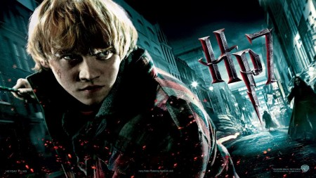 Rupert Grint In Harry Potter And The Deathly Hallows Part Wallpaper Wallpaper
