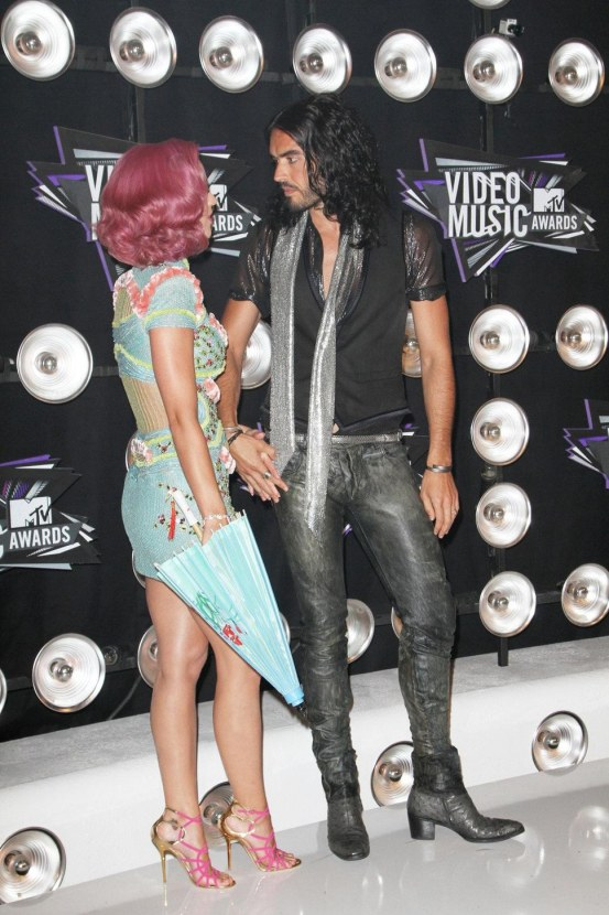 Katy Perry Russell Brand Marri Clothes