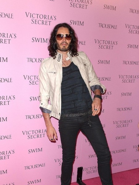 Russell Brand White Jacket Ski