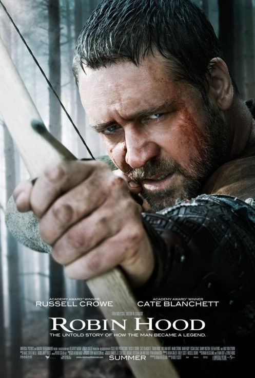 Robin Hood Russel Crowe Movie Poster Movies