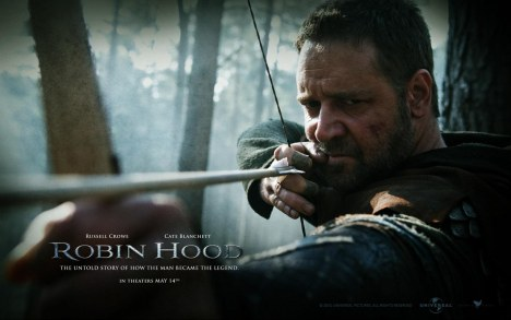 Russell Crowe In Robin Hood Wallpaper Wide Wallpaper