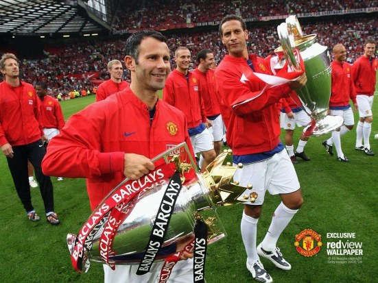 Rio Ferdinand Champions League Trophy