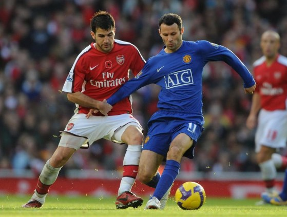 Ryan Giggs Arsenal Manchester United Premier Zydqi Er Gqx Arsenal