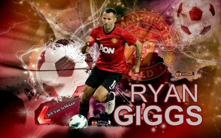 Ryan Giggs Manchester United Hd Hd Football