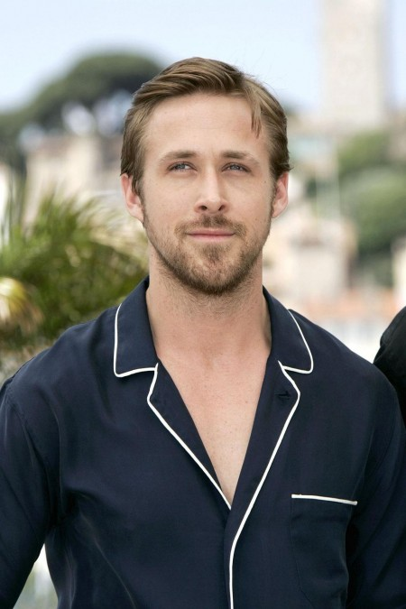 Ryan Gosling Dark Blue Shirt