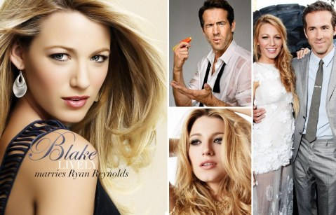 Blake Lively Marries Ryan Reynolds And Blake Lively
