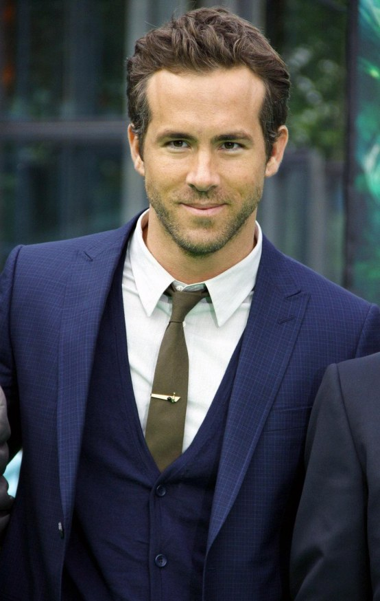 Ryan Reynolds Blue Coat White Hot