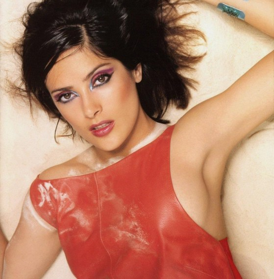 Hollywood Actress Salma Hayek Photoshoot Hot