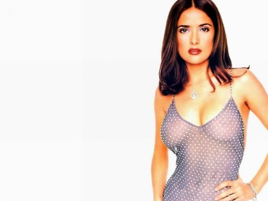 Salma Hayek Hot Photo Hot